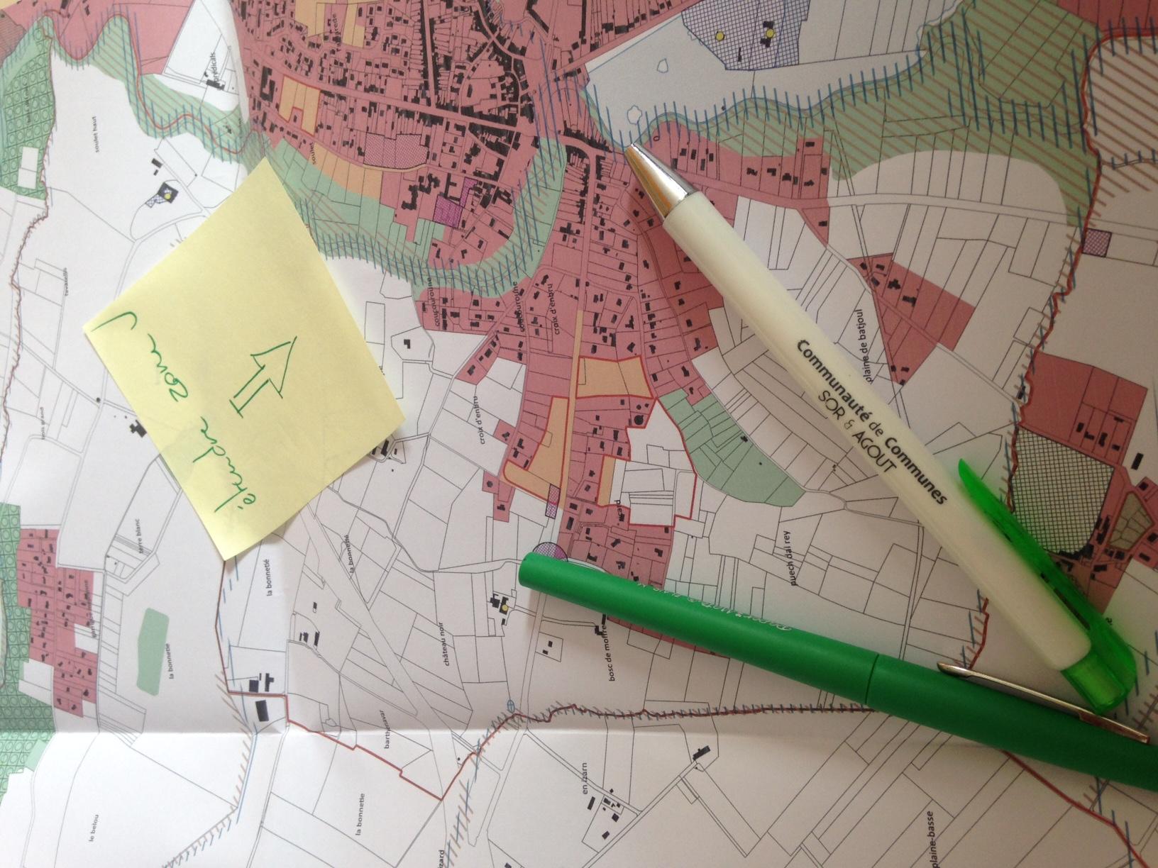 Projet d'élaboration du PLUI de la Communauté de Communes du Sor et de l'Agout