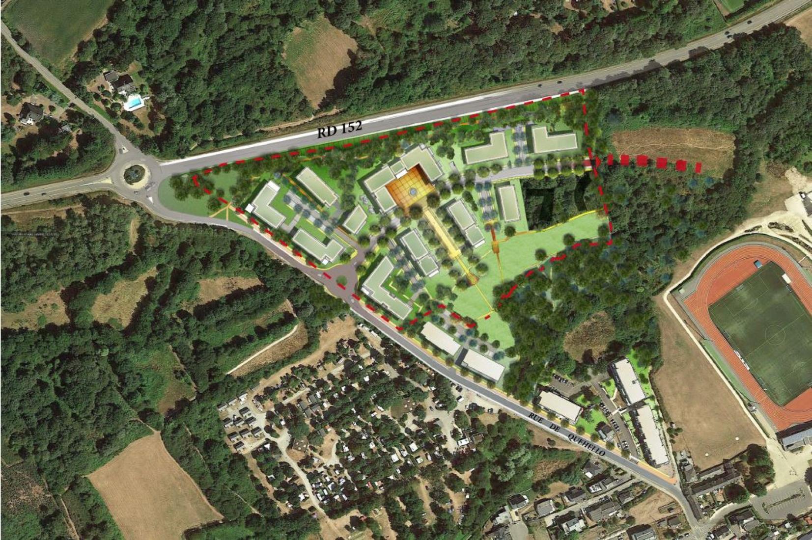 Projet d'aménagement du Plateau du Menez Ouest à LARMOR-PLAGE