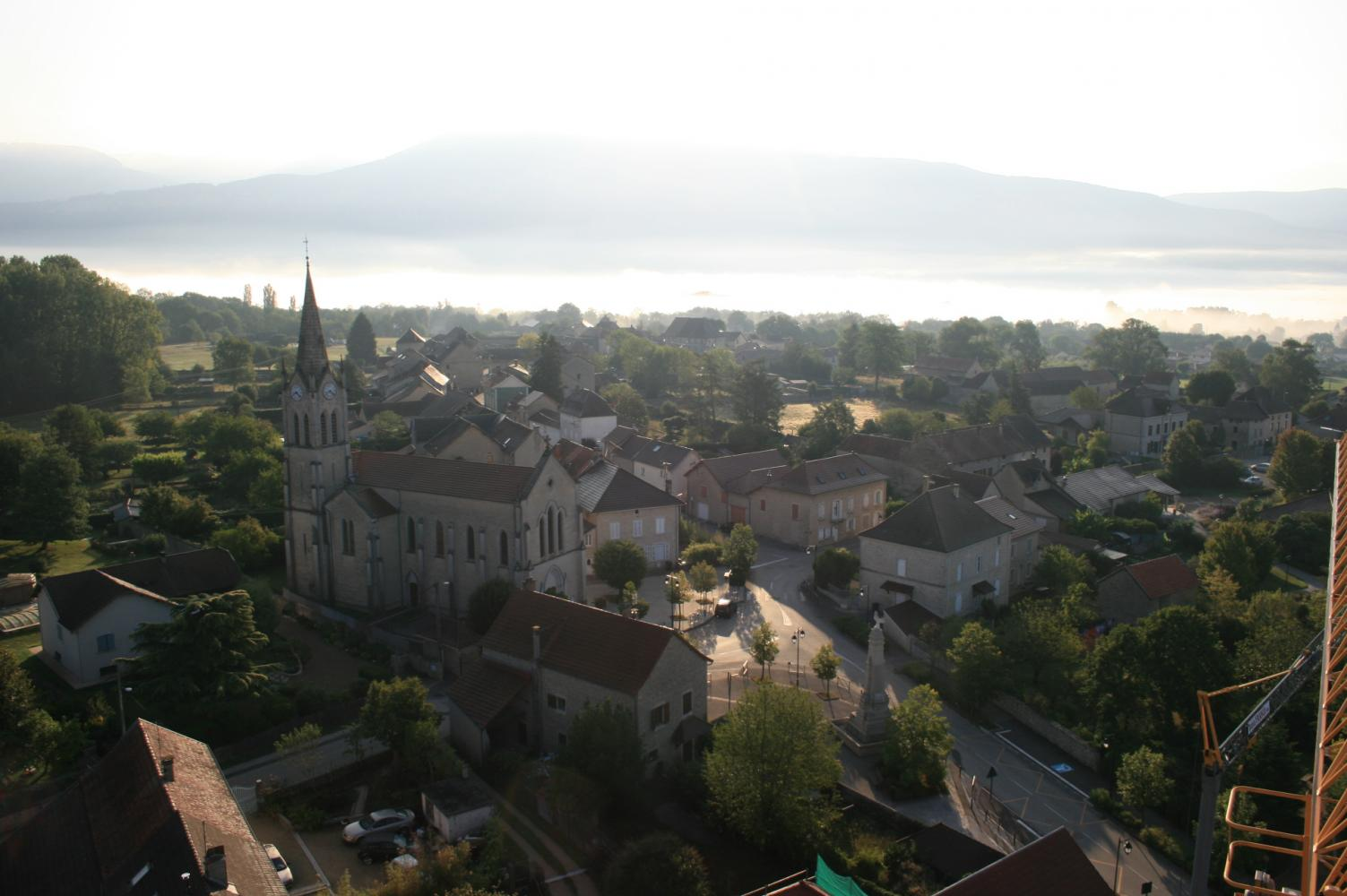 Projet de PLU de la Commune de Porcieu-Amblagnieu et projet de zonage d'assainissement des eaux usées et pluviales