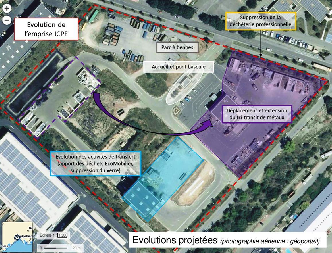 Projet Valorisation Suez sur la commune de Vendargues