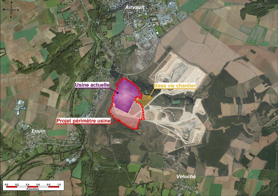 Concertation préalable du public sur la MECDU du PLU d'Airvault (dans le cadre du projet de modernisation de la cimenterie d'Airvault)