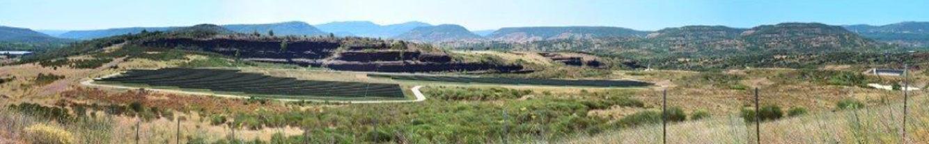 Parc photovoltaïque sur les commune de Soumont  et de le Bosc