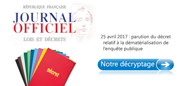 Décret d'application du 25 avril 2017